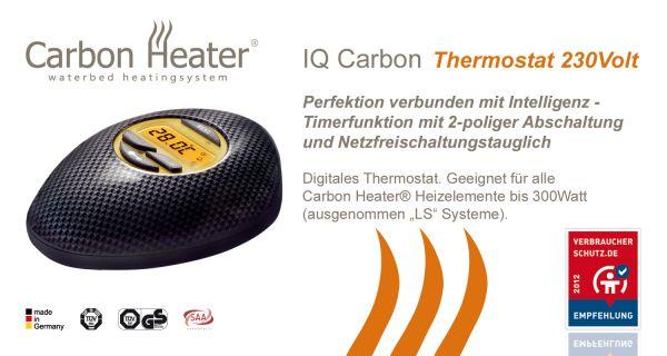 Carbon Heizung Wasserbett IQ