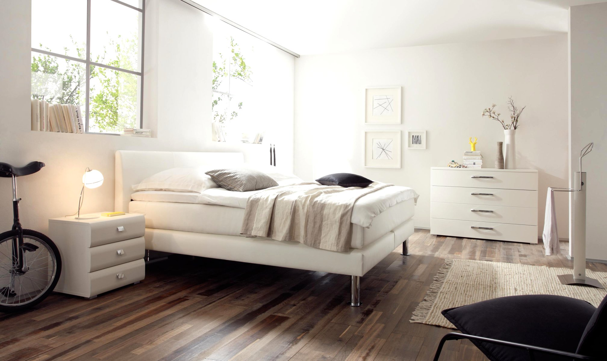 boxspringbett modern dogra leed wasserbettmatratzen und gelmatratzen. Black Bedroom Furniture Sets. Home Design Ideas