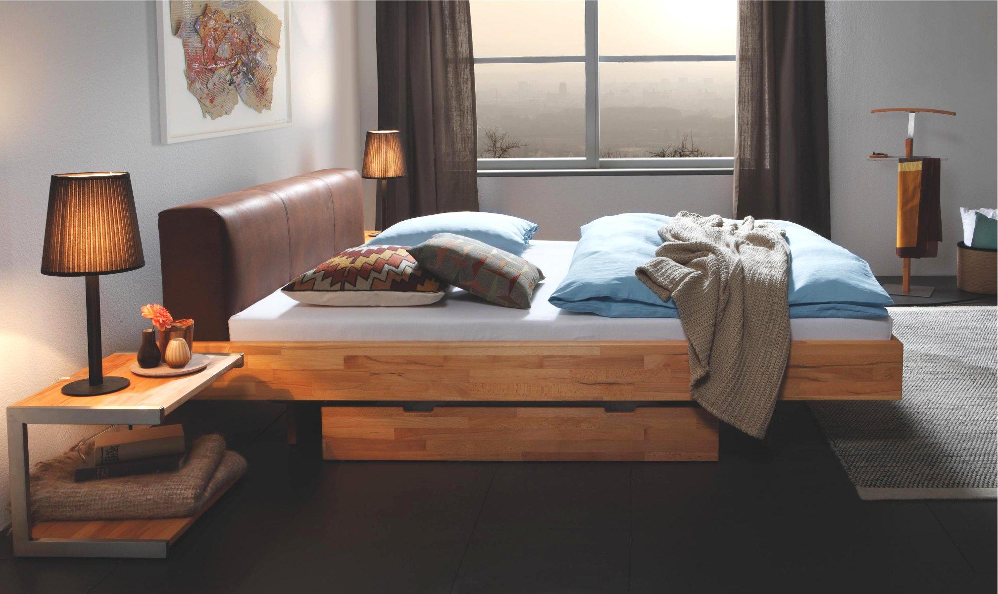 Hasena wood line massivholzbett premium vilo ceneri for Bett 200x220 holz