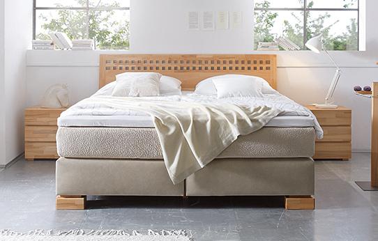 boxspring bett classic sierra wasserbettmatratzen und. Black Bedroom Furniture Sets. Home Design Ideas