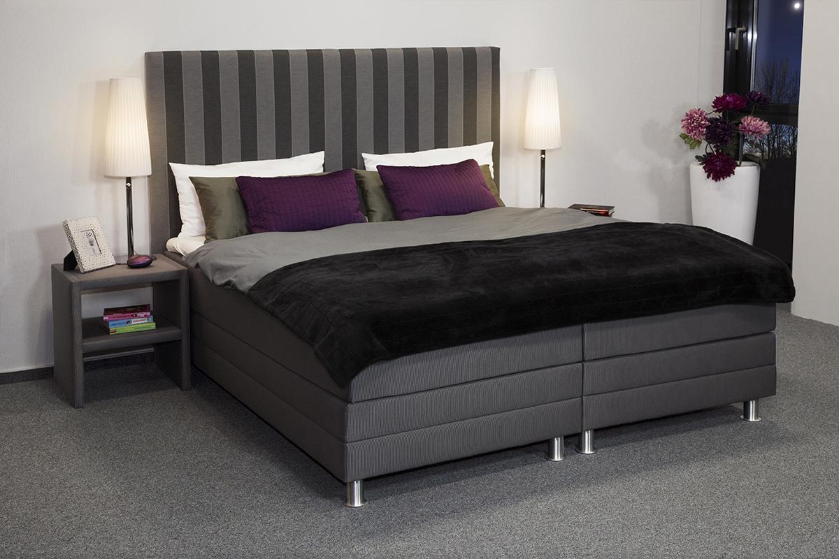 boxspringbett ambiente silver deluxe wasserbettmatratzen und gelmatratzen. Black Bedroom Furniture Sets. Home Design Ideas